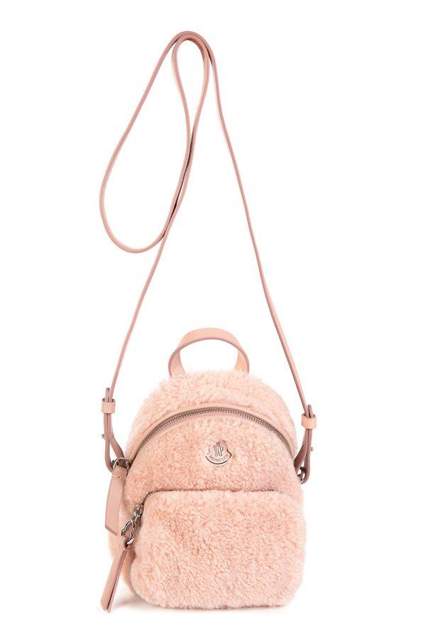 Moncler Women's Kilia PM Backpack Bag Pink