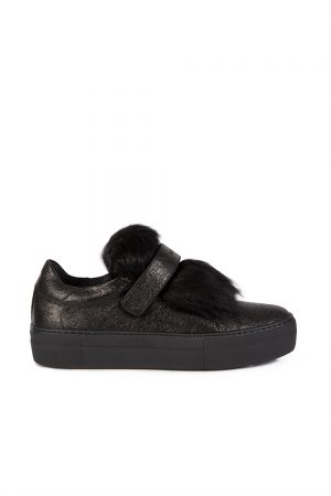 Moncler Victoire Women's Shoes Black - New W19 Collection