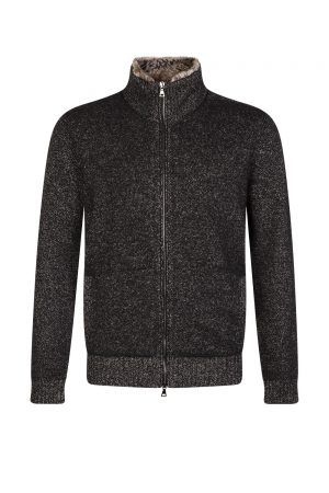 John Varvatos Men's Classic Fit Sweater Jacket