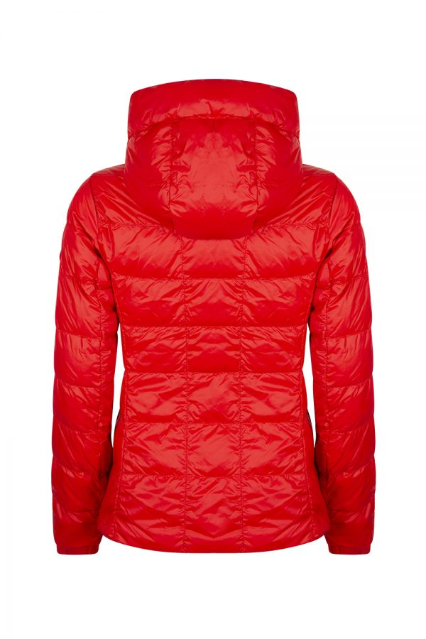 Canada Goose Abbott Hoody Women's Jacket Red