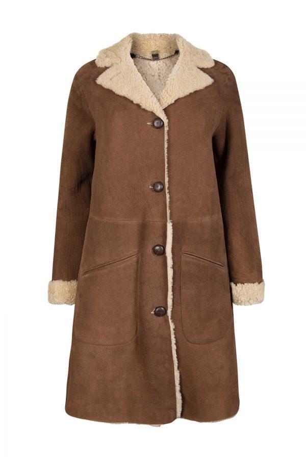 Belstaff Car Coat Women's Jacket Chestnut