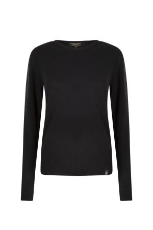 Belstaff Men's Engineered Crew Neck Black