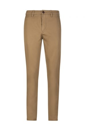 Belstaff Men's Officer Slim-Fit Chino Trousers Khaki
