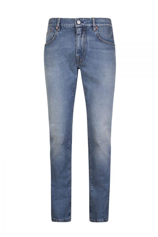 Belstaff Men's Longton Slim-Fit Jeans Stone Wash Indigo
