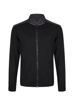 Belstaff Men's Kelby Zip Cardigan Black
