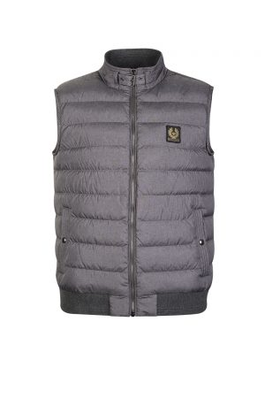Belstaff Men's Circuit Gilet Grey