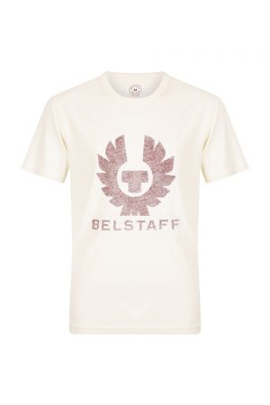 Belstaff Men's Coteland 2.0 reflective T Shirt Bone