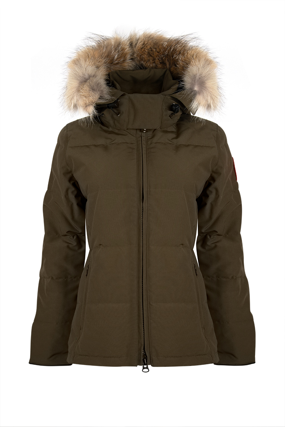 Canada Goose Chelsea Women S Down Parka Military Green