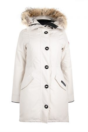 Canada Goose Rossclair Women's Parka White - New W19 Collection