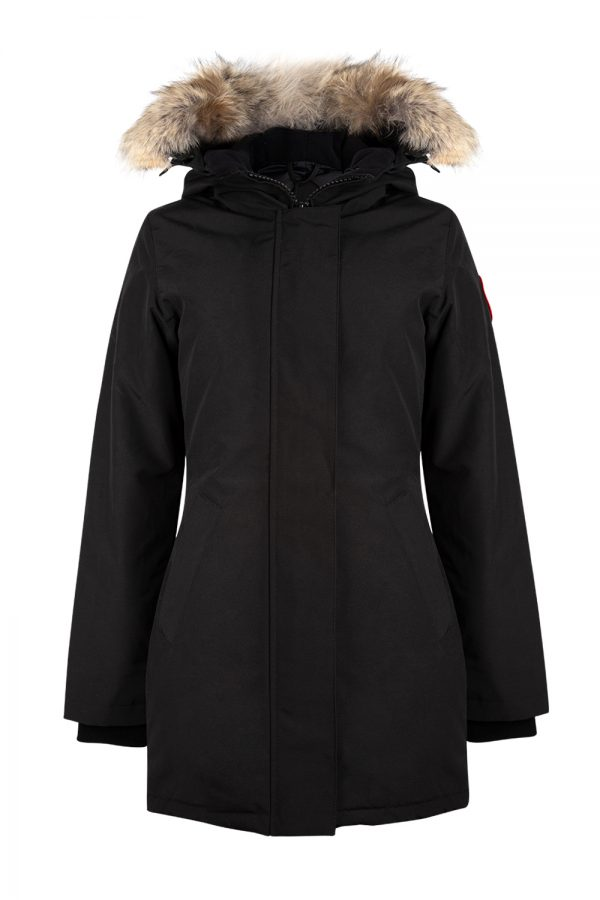 Canada Goose Victoria Women's Down Parka Black - New W19 Collection