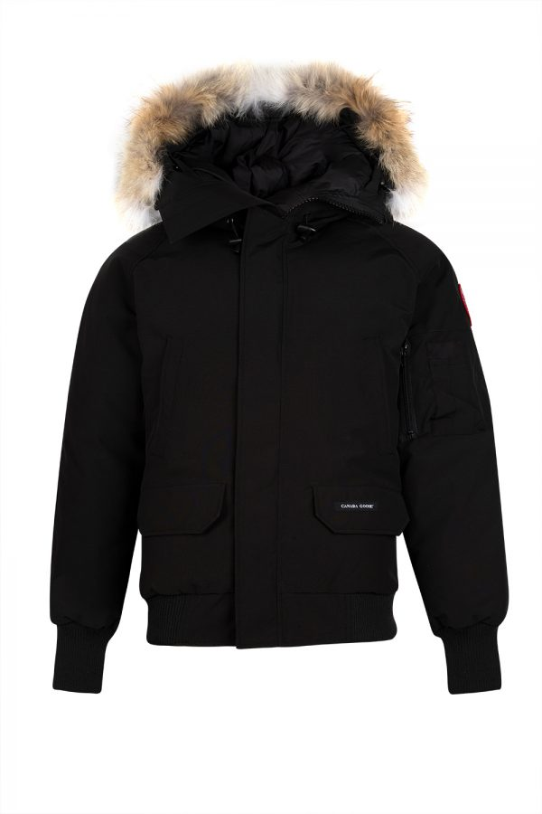 Canada Goose Chilliwack Men's Padded Bomber Jacket Black - New W19 Collection
