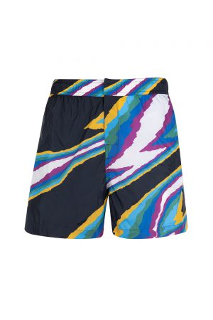 Missoni Men's Pattern Swim Shorts Navy - New S20 Collection