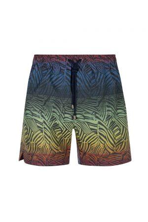 Missoni Men's Zebra Pattern Swim Shorts Navy - New S20 Collection
