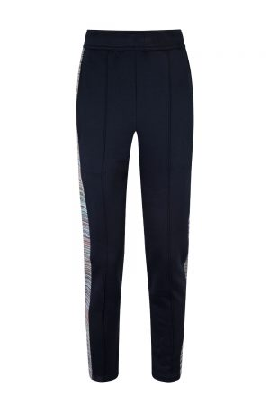 Missoni Men's Cotton Trousers Navy - New S20 Collection