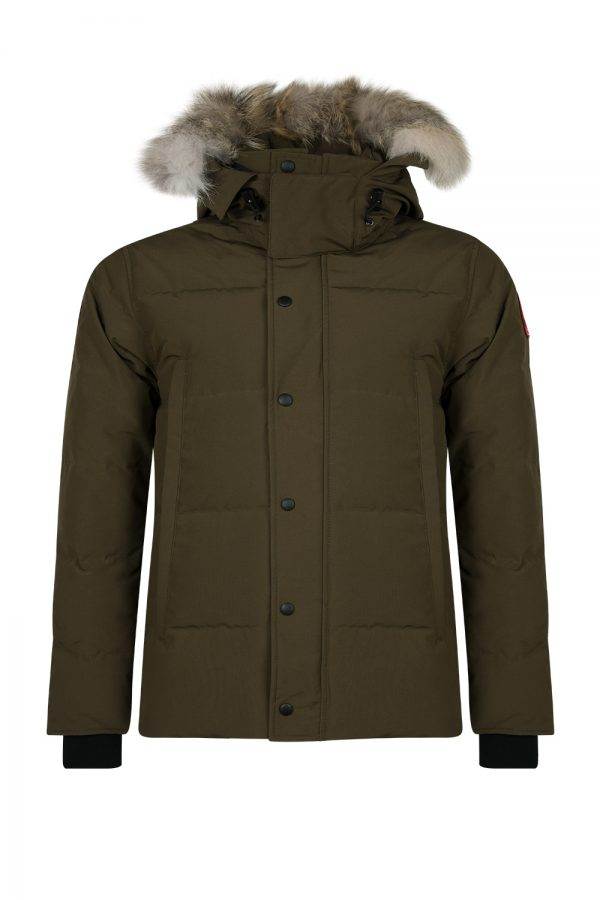 Canada Goose Wyndham Men's Parka Military Green - New W19 Collection