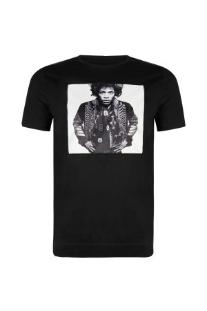 Limitato Jimmy B&W Men's T-shirt Black - New S20 Collection