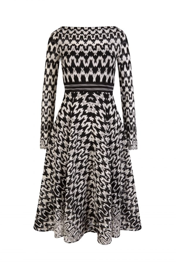 Missoni Women's Zig Zag Dress Black - New S20 Collection