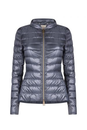 Herno Women's Organza Quilted Jacket Blue