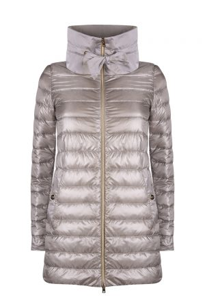 Herno Women's High Neck Jacket Grey