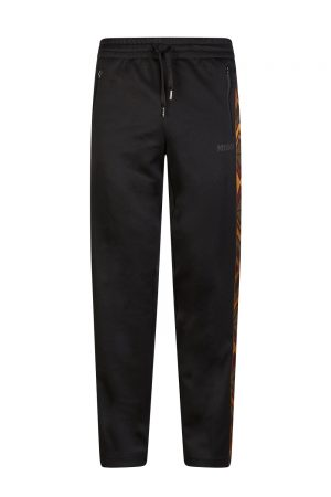 Missoni Men's Chevron Trim Track Trousers Black