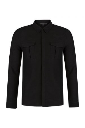 John Varvatos Heavy Shirt Black