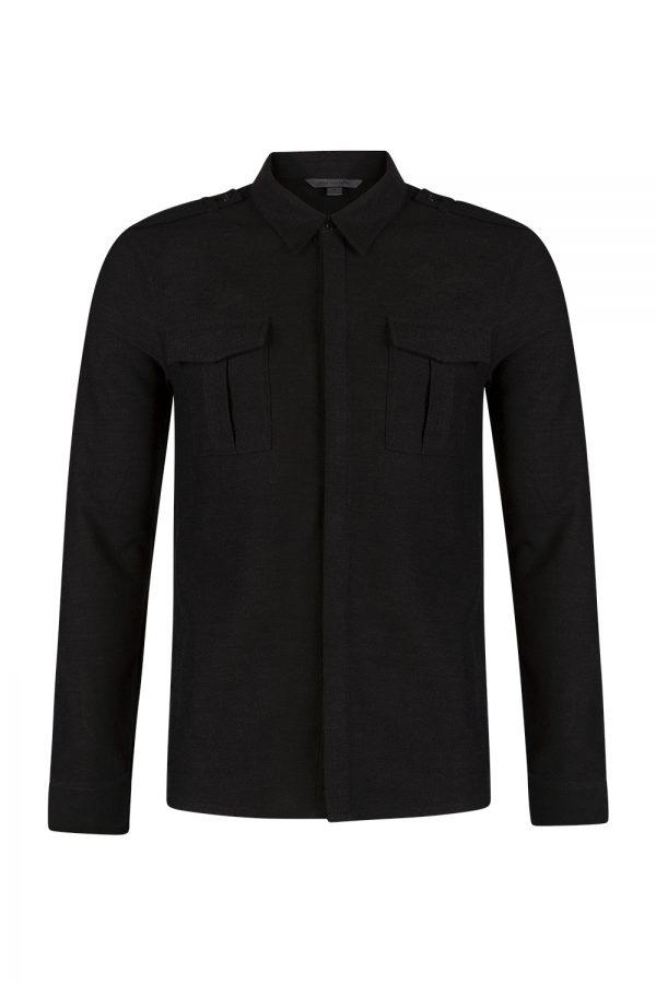 John Varvatos Heavy Shirt Black