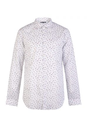 John Varvatos Abstract Print Shirt White