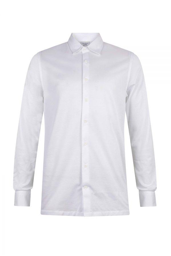 Gran Sasso Camicio Polo Shirt White - New S20 Collection