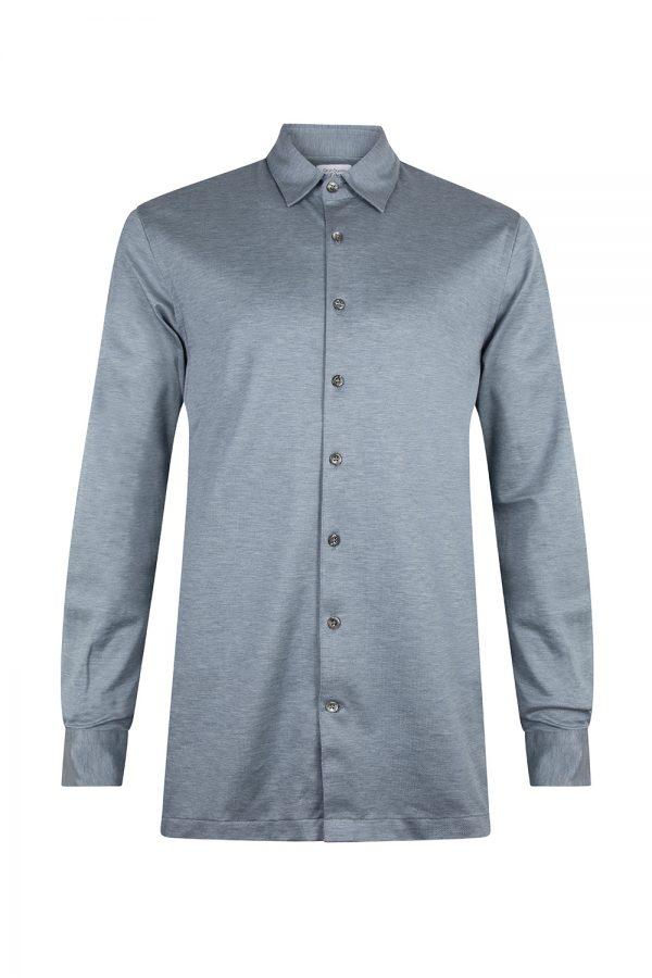 Gran Sasso Camicio Polo Shirt Blue - New S20 Collection