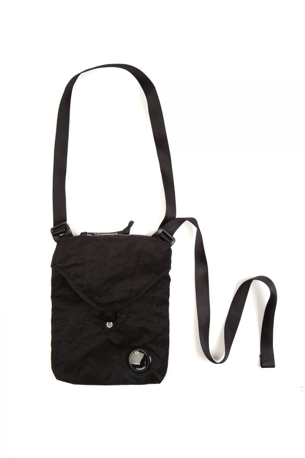 C.P. Company Nylon Side Bag Black - New S20 Collection