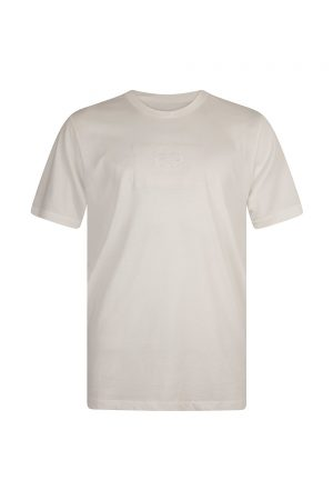 C.P. Company Jersey 30/1 Label Logo T Shirt White - New S20 Collection