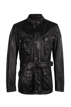 Belstaff Men's Trialmaster Panther 2.0 jacket Bright Navy - New S20 Collection