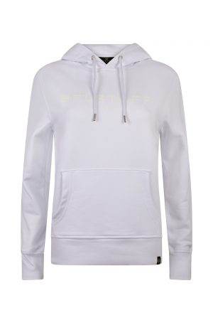 Belstaff Men's 1924 Pullover Hoodie White - New S20 Collection