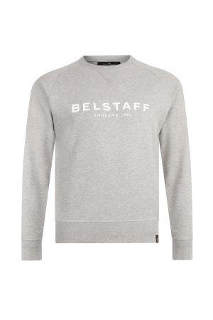 Belstaff Men's 1924 Sweatshirt Heather Grey - New S20 Collection