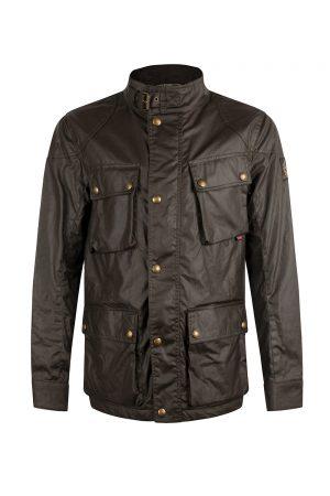 Belstaff Men's Fieldmaster Jacket Faded Olive - New S20 Collection