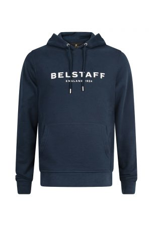 Belstaff Men's 1924 Pullover Hoodie Navy - New S20 Collection