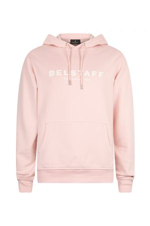 Belstaff Men's 1924 Pullover Hoodie Pink - New S20 Collection