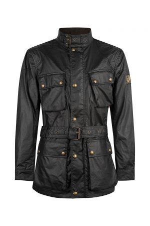 Belstaff Men's Trialmaster Jacket Black - New S20 Collection