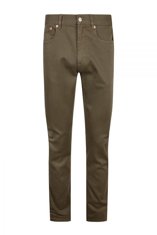 Belstaff Men's Longton Slim Jeans Sage Green - New S20 Collection
