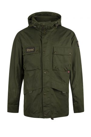 Belstaff Men's Dual Parka Jacket Rifle Green - New S20 Collection