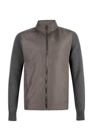 Belstaff Men's Abbott Zip Up Cardigan Grey - New S20 Collection
