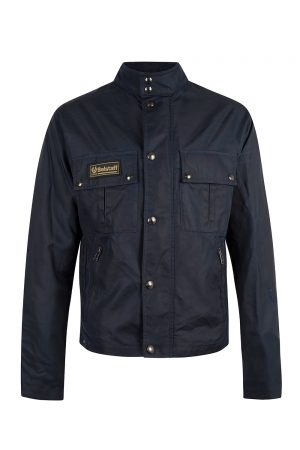Belstaff Men's Instructor Jacket Dark Ink - New S20 Collection
