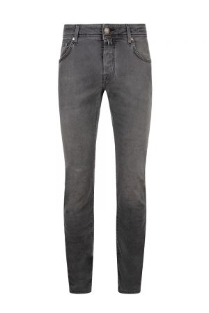 Jacob Cohën J622 Slim Men's Luxury Denim Jeans Dark Grey
