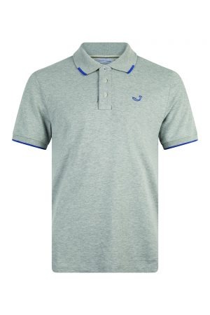 Jacob Cohën Logo Embroidery Polo Shirt Grey - New S20 Collection