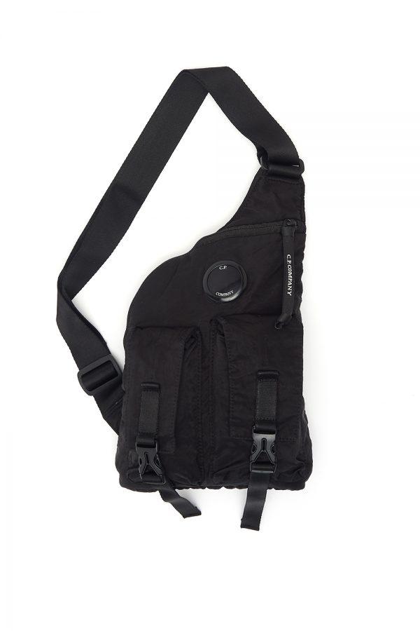C.P. Company Cross Bag Black - New W20 Collection