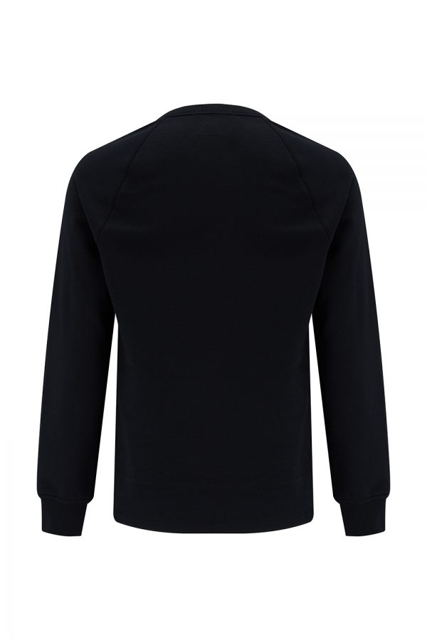 C.P. Company Metropolis Series Men's Fleece Logo Sweatshirt Black - New SS21 Collection