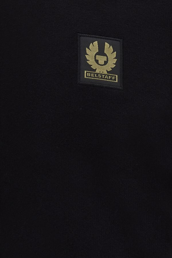 Belstaff Men's Zip Through Track Jacket Black - New SS21 Collection