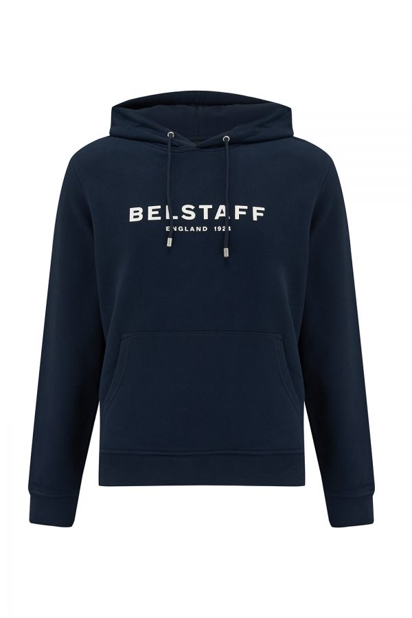 Belstaff 1924 Men's Logo-print Pullover Blue - New SS21 Collection