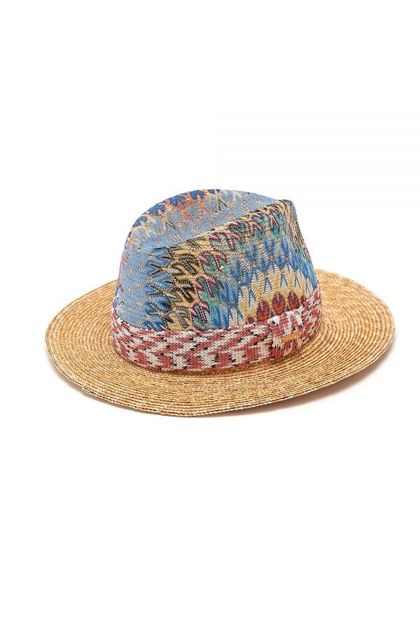 Missoni Women's Wave Patten Straw Hat Multicoloured - New SS21 Collection