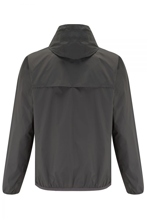 K-Way Le Vrai Claude 3.0 Men's Windbreaker Jacket Grey - New SS21 Collection